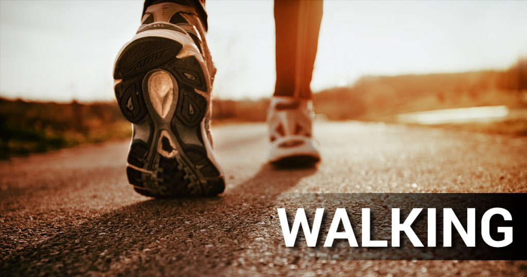 Maintain a Healthy Weight by Walk