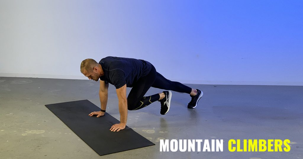 ​Mountain Climber for a Full-Body Workout