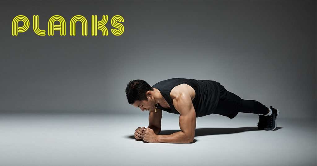 planks for core strength