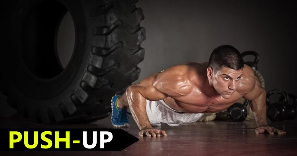 Push up to Strengthen Your Arms