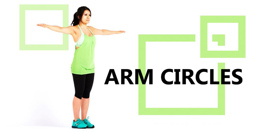 Arm Circles Exercise to Help You Lose Arm Fat