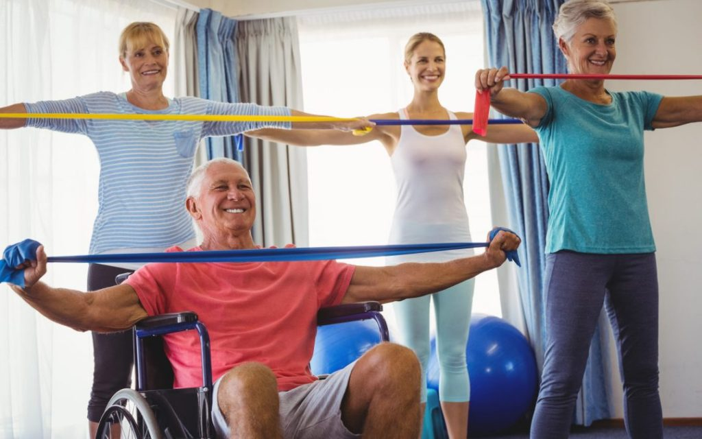 How to motivate elder for Exercise