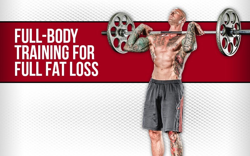 full-body workout challenge for fat loss