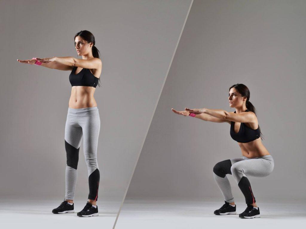 squats cardio exercise