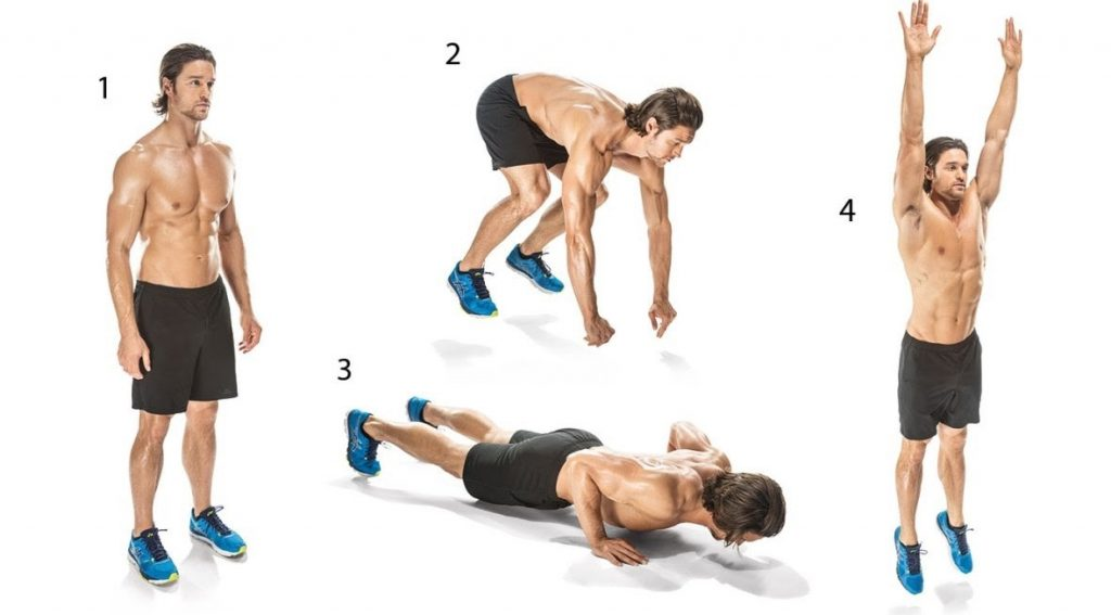 burpees  a full body exercise