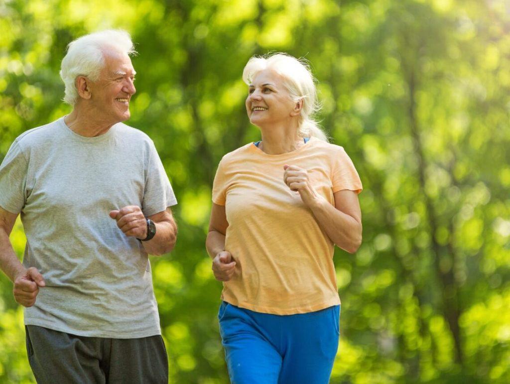 Jogging for seniors