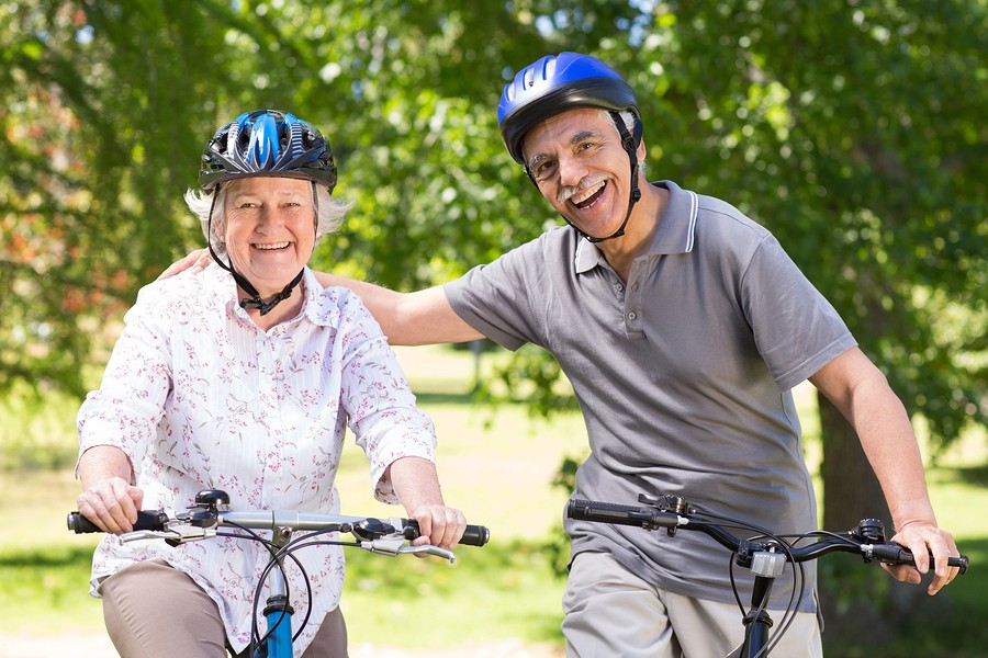 cycling exercise for Senior