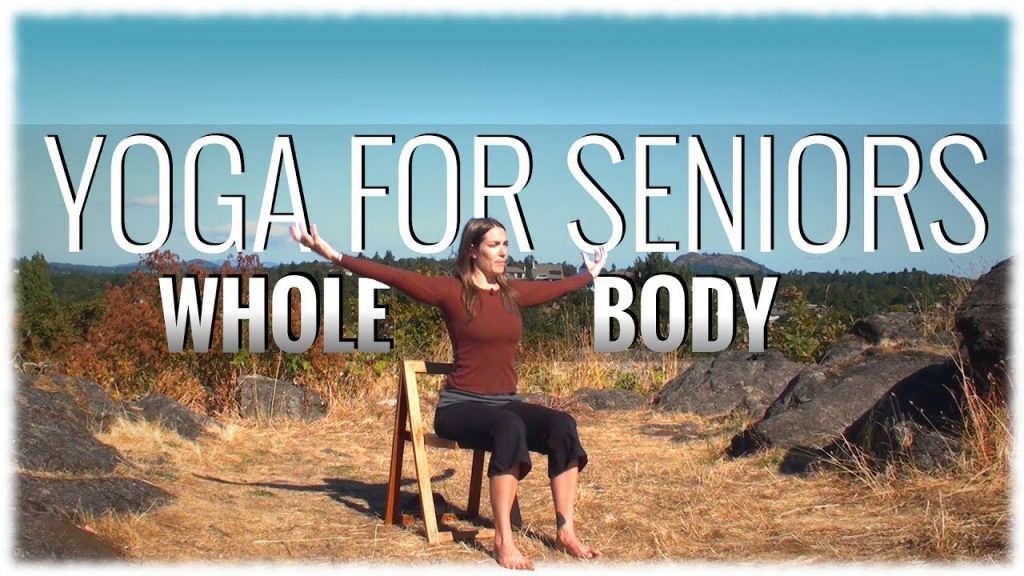 Yoga tips for senior people